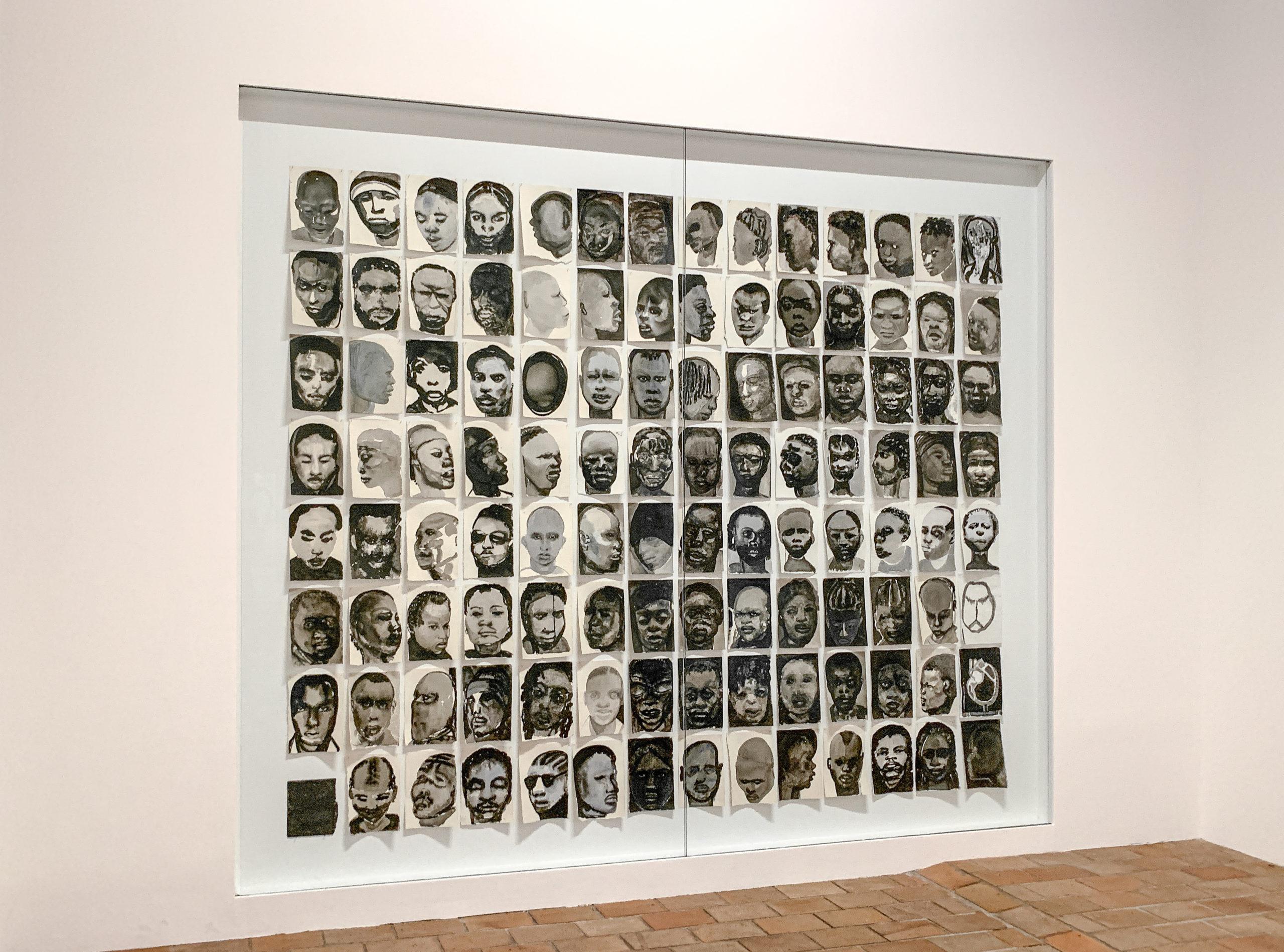 Marlene Dumas - Black drawings